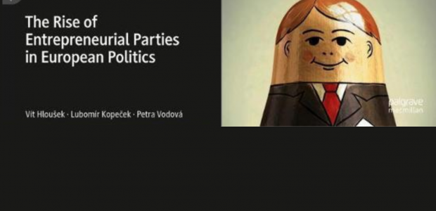 Nová kniha: The Rise of Entrepreneurial Parties in European Politics