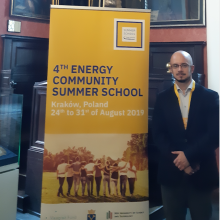 Jirušek Mentors the 4th Energy Community Summer School