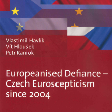 Havlík, Hloušek and Kaniok wrote a new book on the Czech Euroscepticism