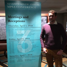 Vratislav Havlík presented a paper at MPSA conference in Chicago