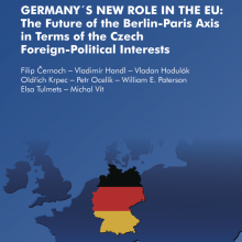 Nová kniha Germany's New Role in the EU